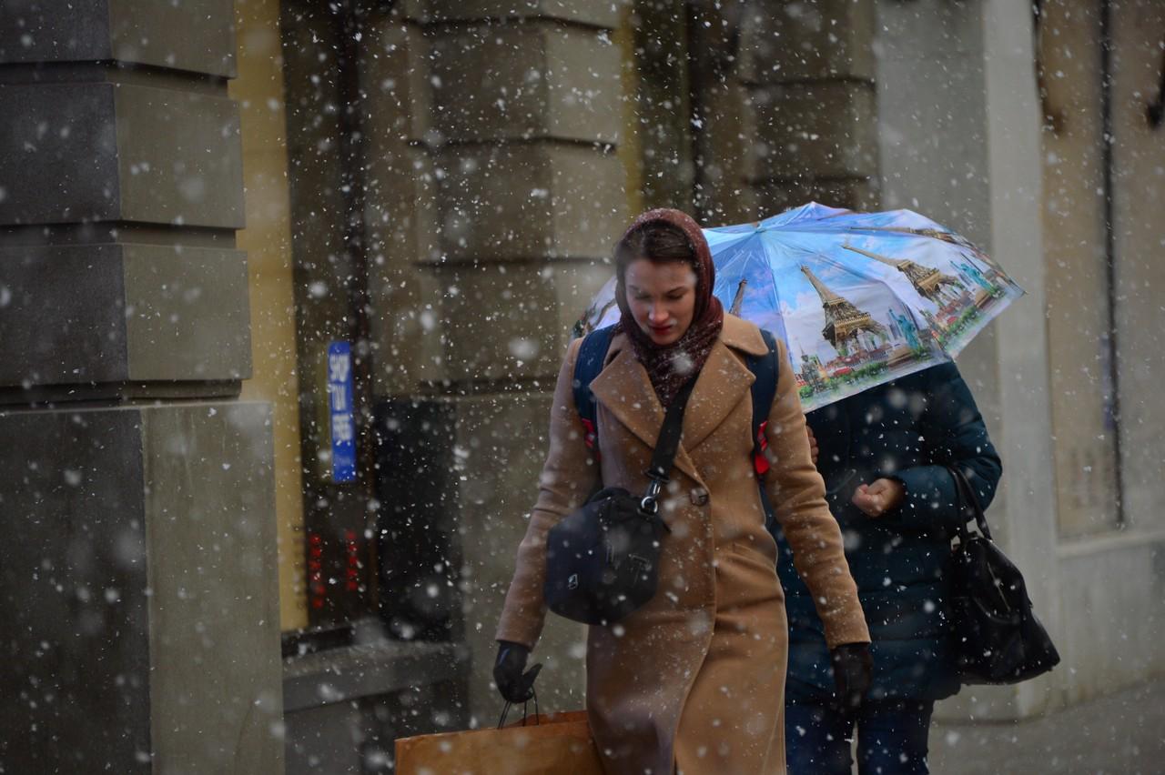 Морозы и небольшой снег ожидаются в Москве