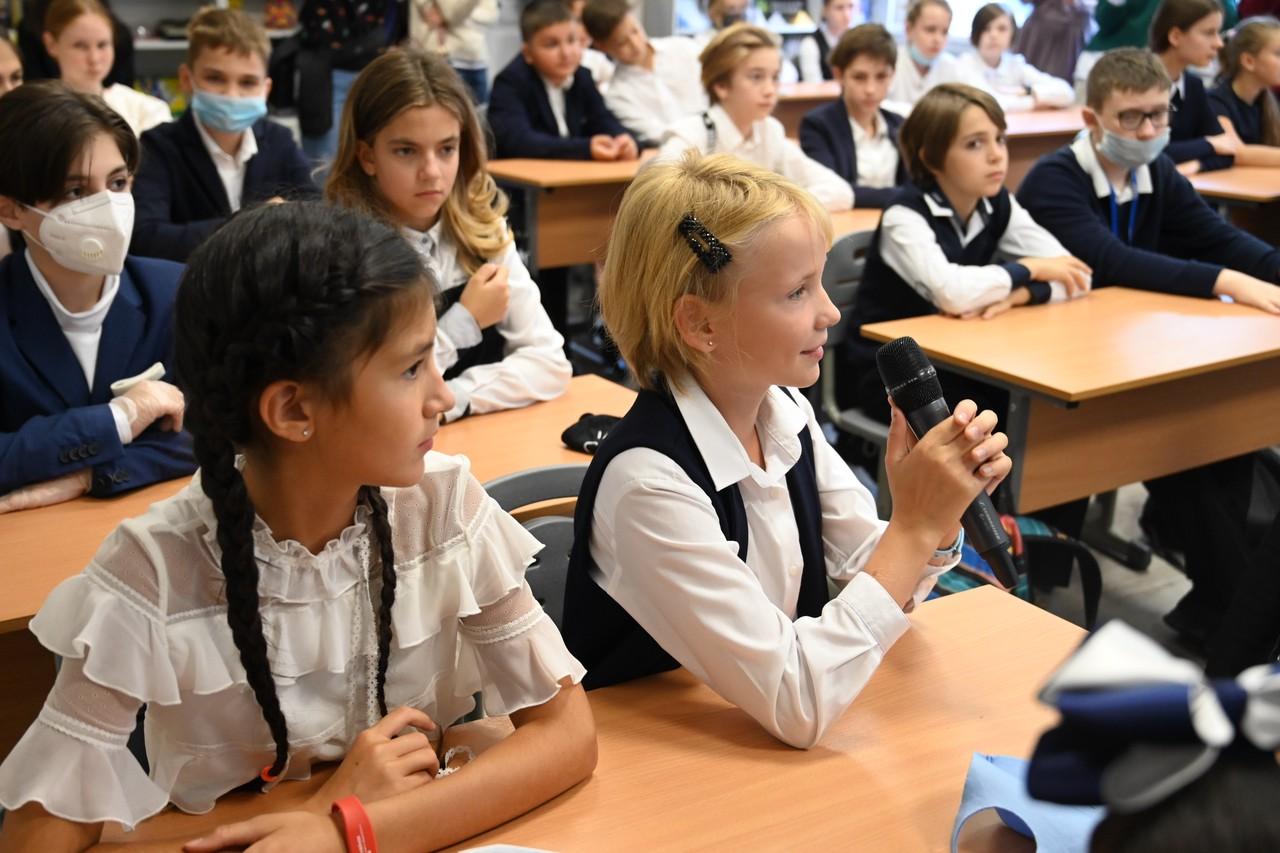 Новую школу-трансформер достроили на юго-западе Москвы