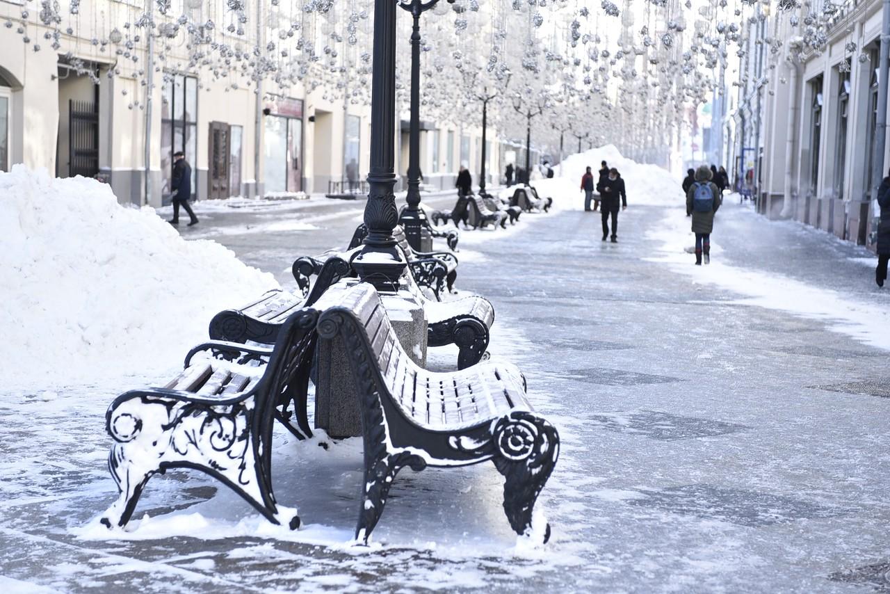 В Москве повысится атмосферное давление