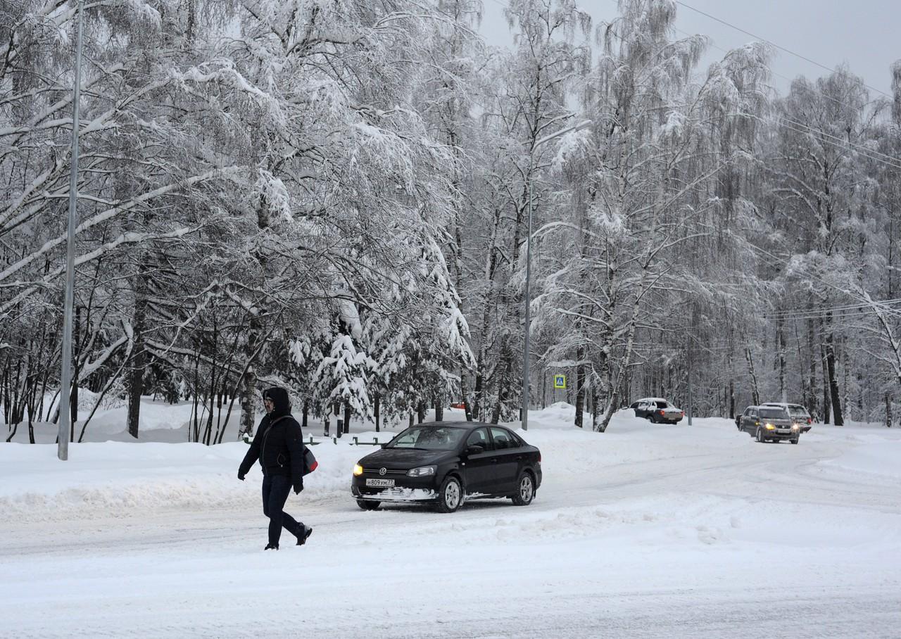 Московские синоптики напугали аномальным морозом и снегопадом