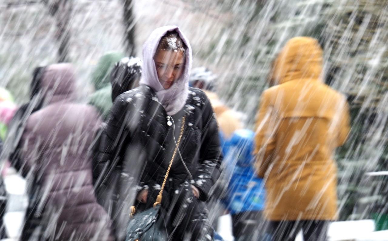 Снегопад обрушится на Москву