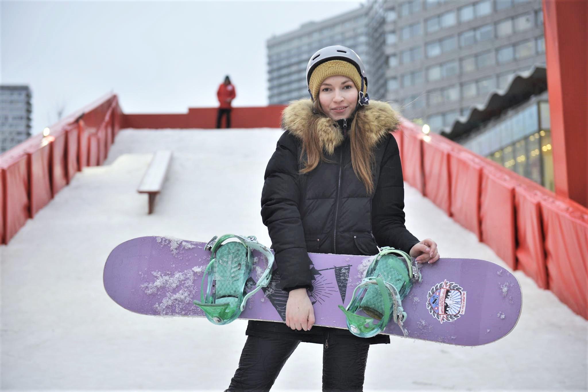 Кубок Европы по сноуборду проведут на территории «Воробьевых гор»