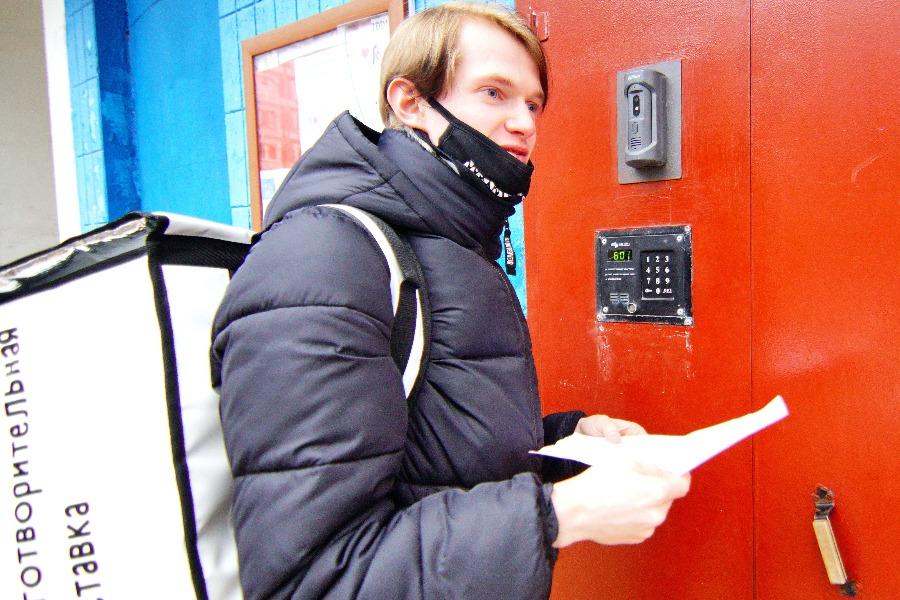 #МыВместе: Волонтеры доставили москвичам 1,3 тонны продуктов с начала года