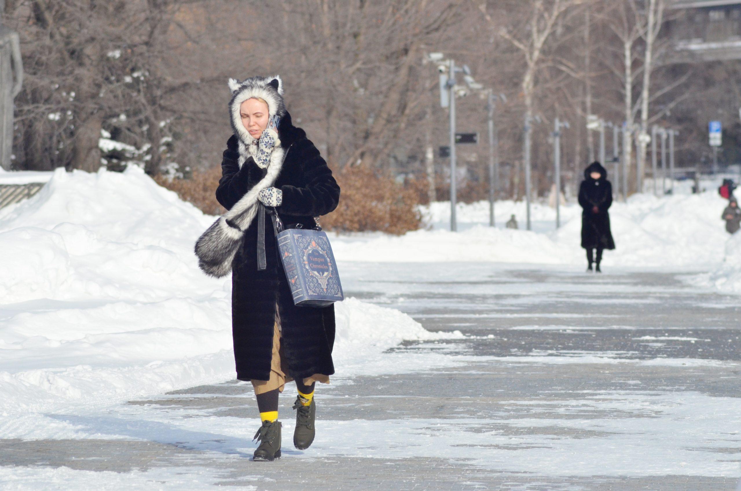 Морозная погода ожидает москвичей во вторник