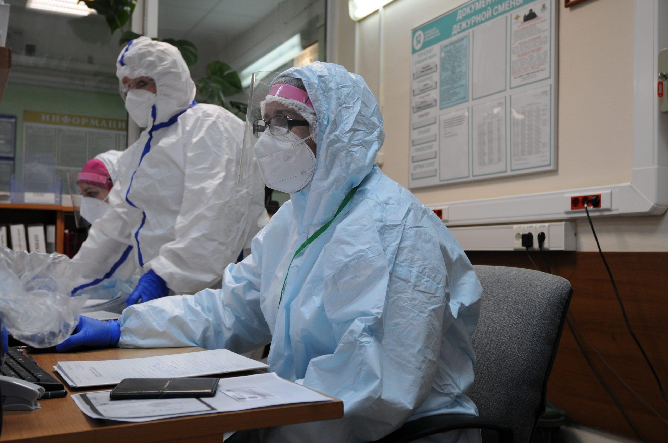 Оперативный штаб по предупреждению распространения коронавируса рассказал о числе зараженных в Москве за минувшие сутки