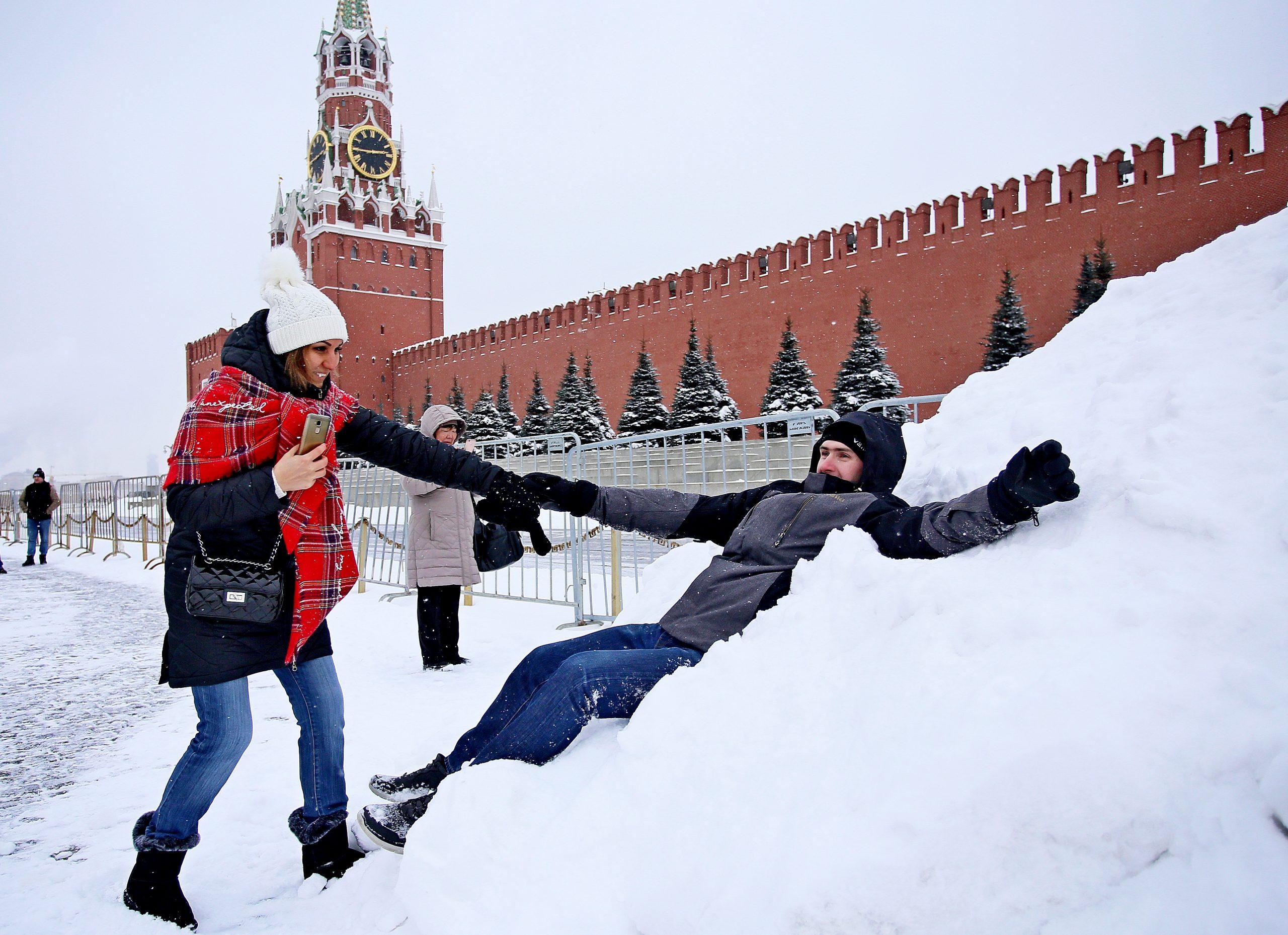 Московский снегопад принесет треть месячной нормы осадков за сутки