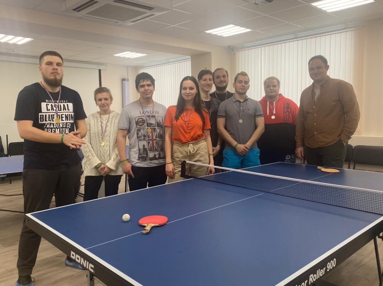 Турнир по настольному теннису провели в Орехове-Борисове Южном