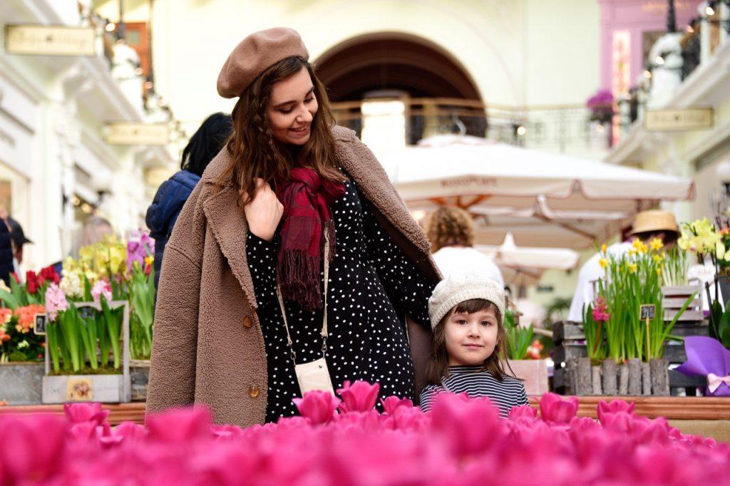 Прогулку к Международному женскому дню опубликовали представители сервиса Russpass. Фото: Пелагия Замятина, «Вечерняя Москва»