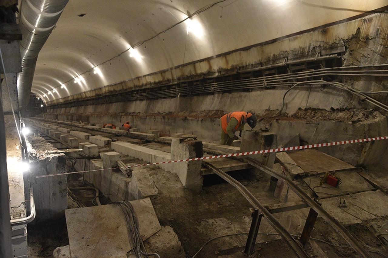 Земляные работы на станции метро «Улица Генерала Тюленева» почти готовы