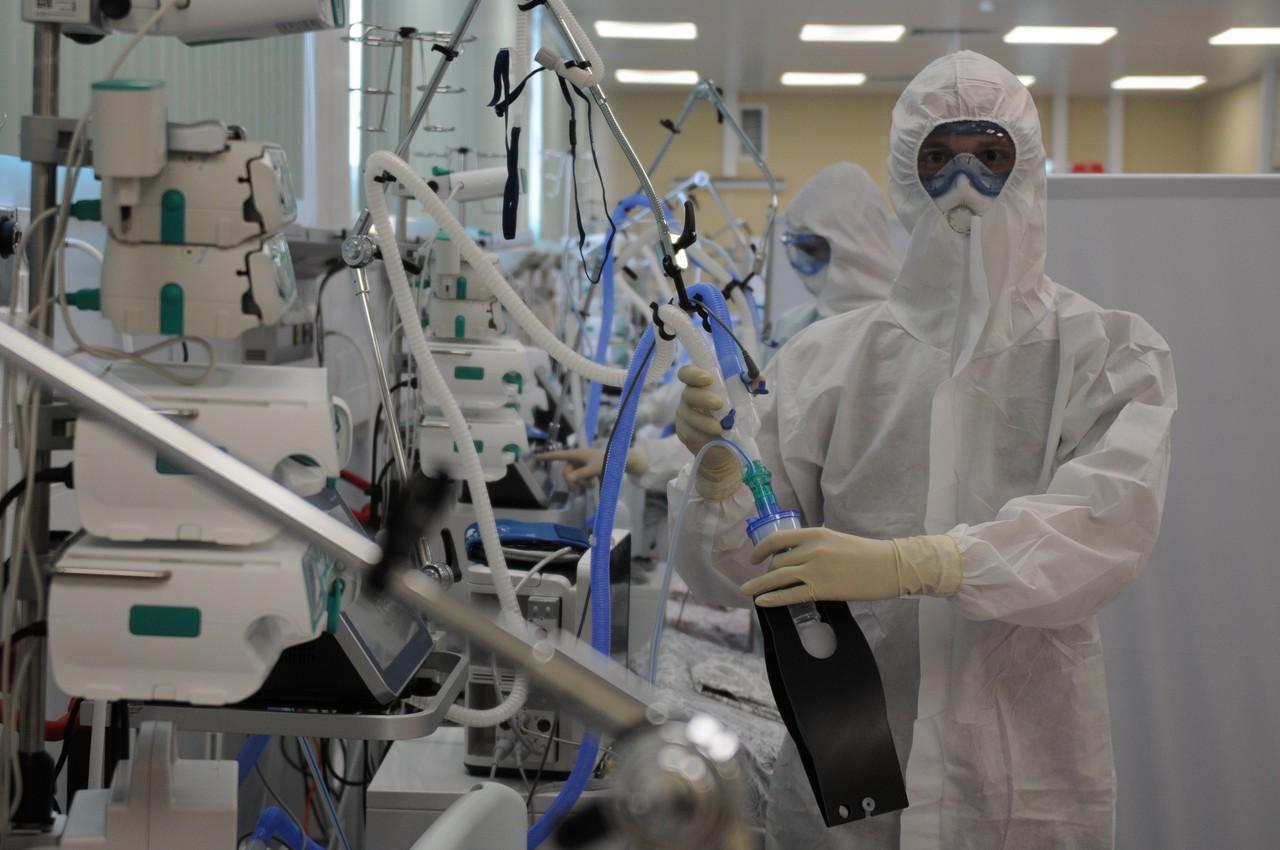Еще 1,2 тысячи случаев коронавируса выявили в Москве
