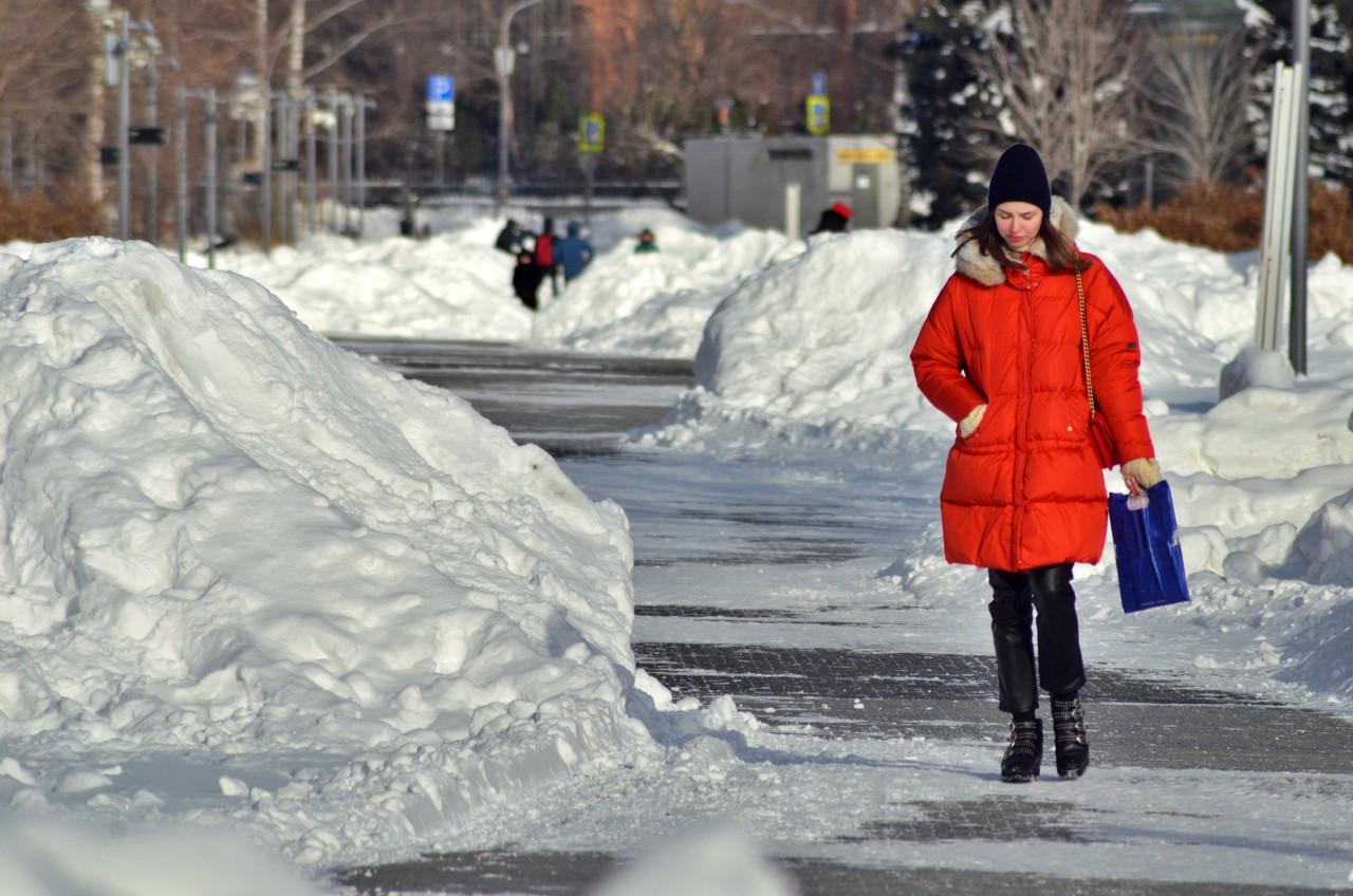 Москвичей ждет похолодание в конце недели