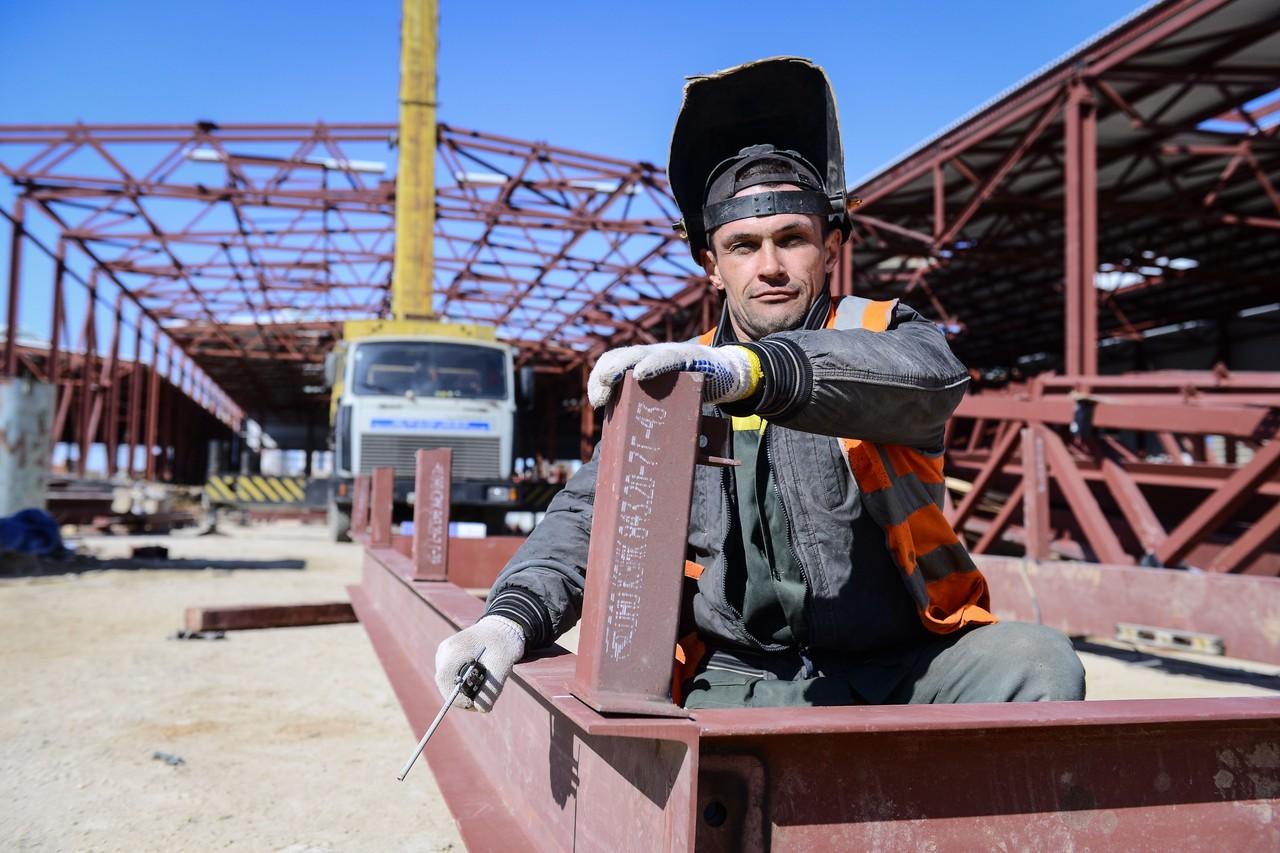 Число уроженцев Москвы увеличилось среди столичных строителей