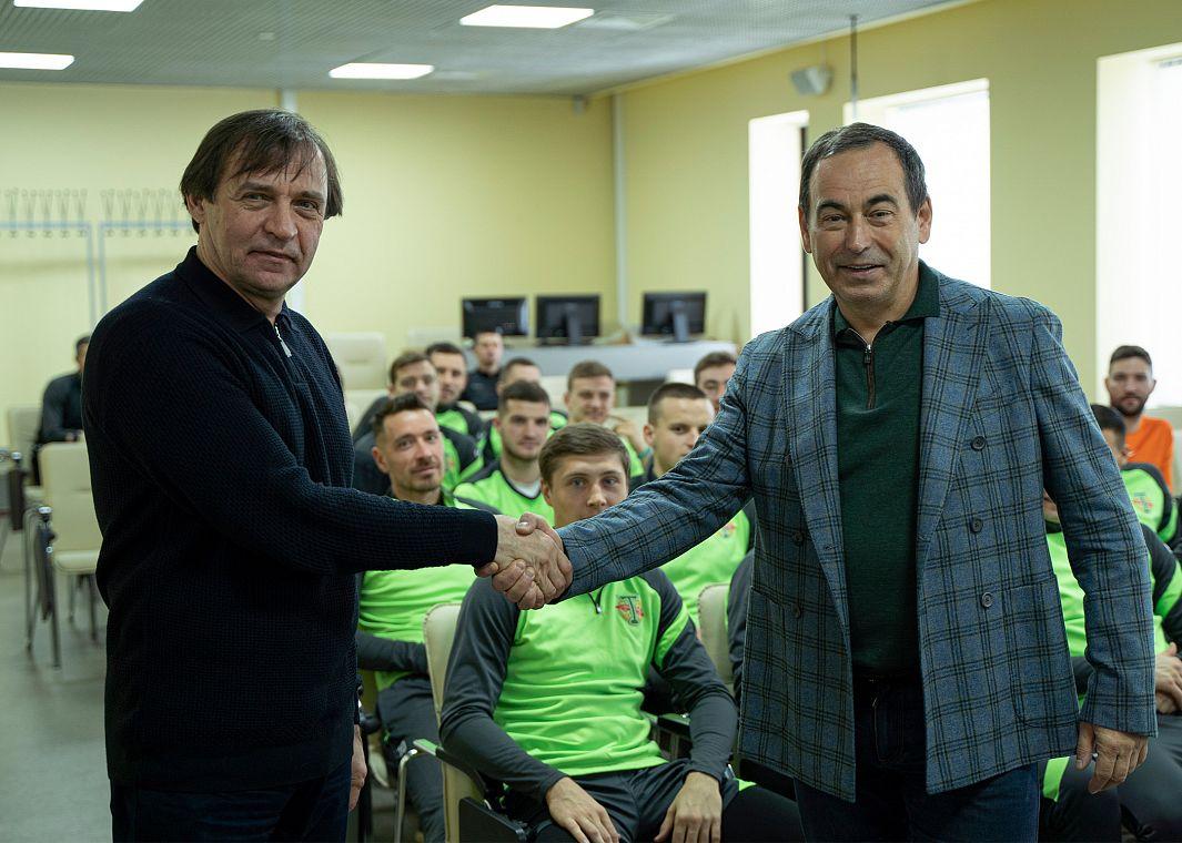 Александр Бородюк стал новым тренером «Торпедо»