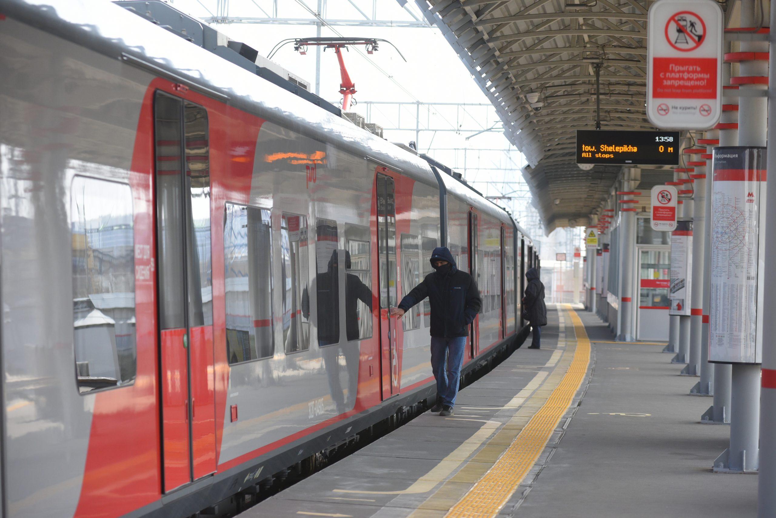 Ежедневный пассажиропоток МЦК превысил 500 тысяч поездок в 2021 году