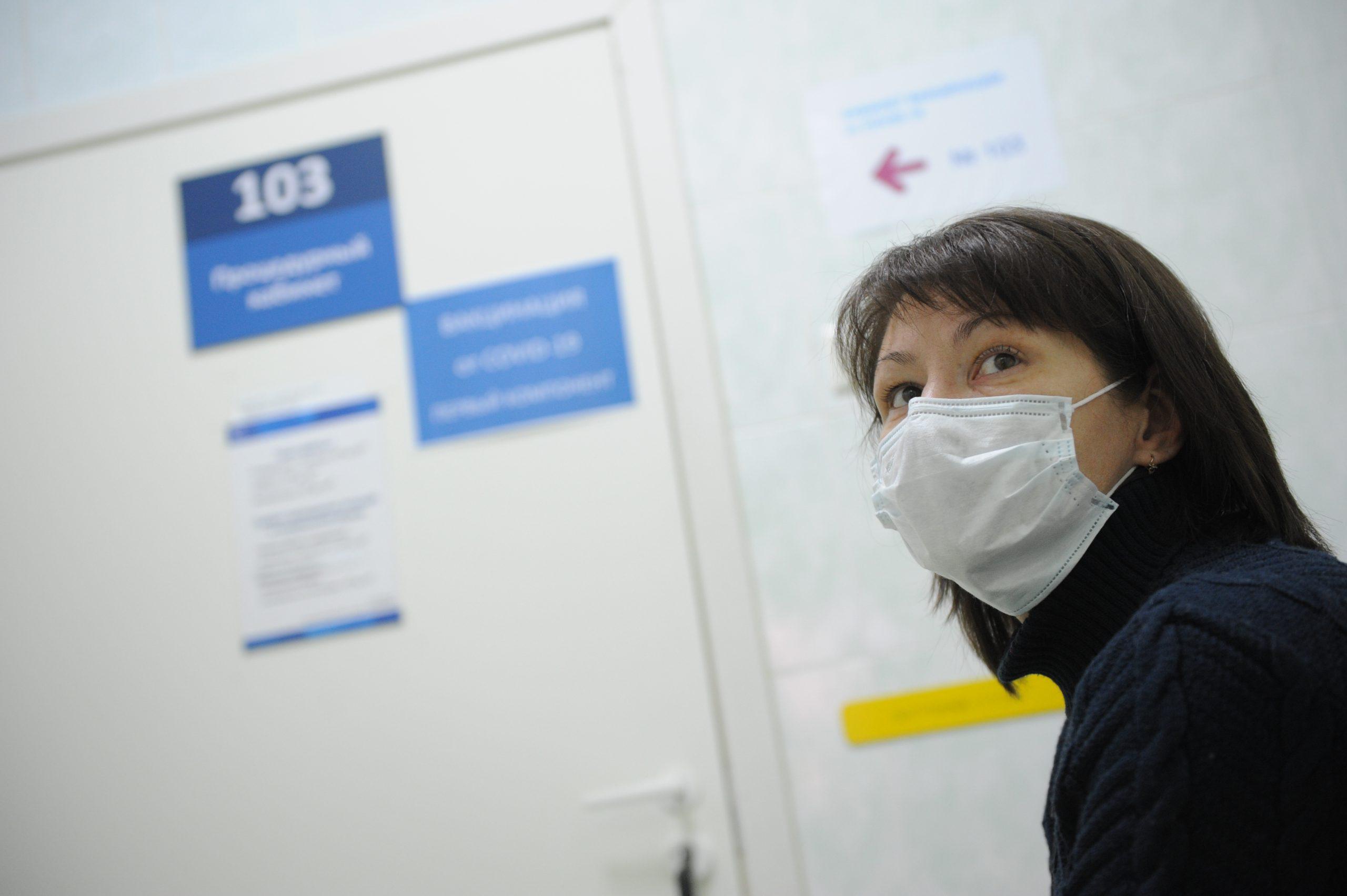 За сутки носителями коронавируса стали еще 1,3 тысячи москвичей
