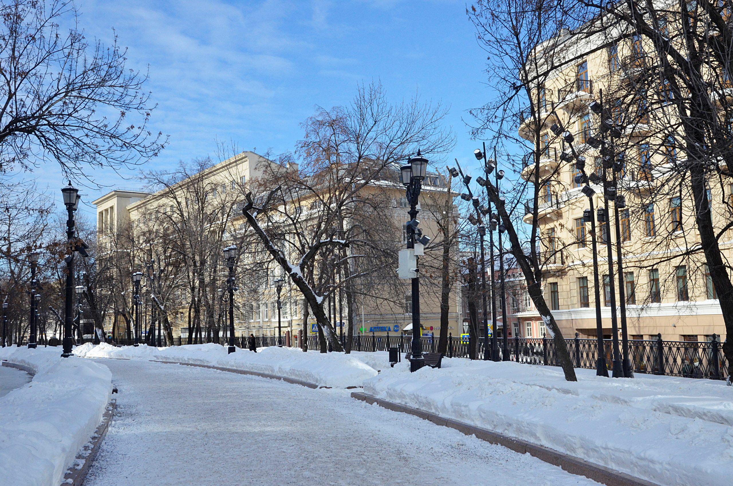 Слабый ветер и отсутствие осадков ожидают в Москве в воскресенье