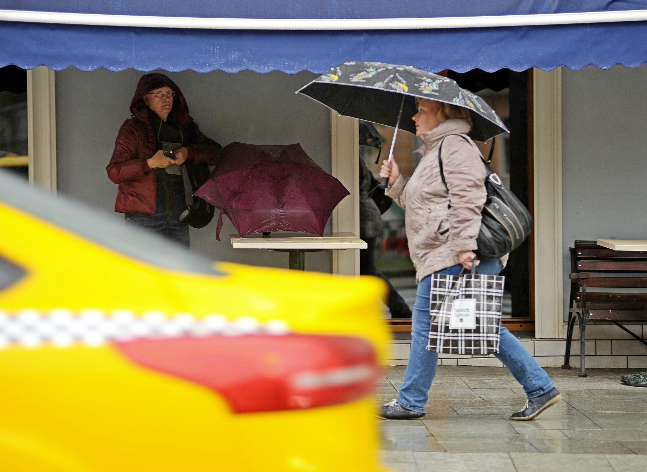 Московский вторник принесет пасмурную погоду