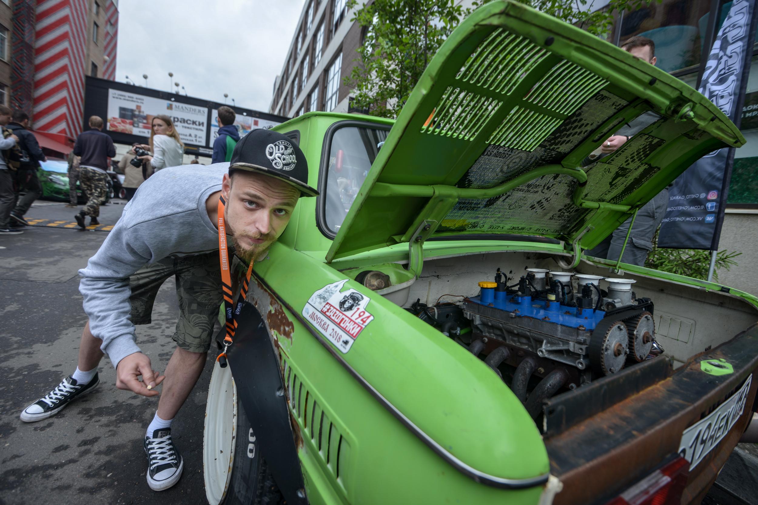 Московская полиция выступила против дешевого тюнинга