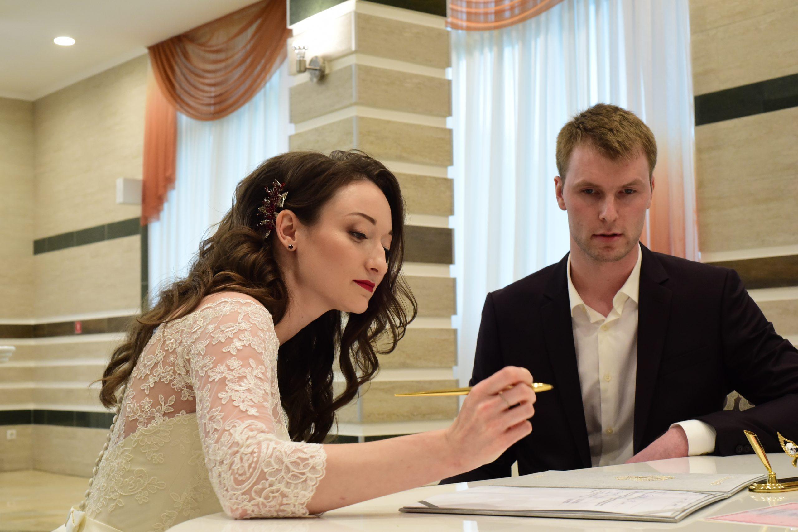 Москвичи подали более 28 тысяч заявлений о регистрации брака в 2021 году