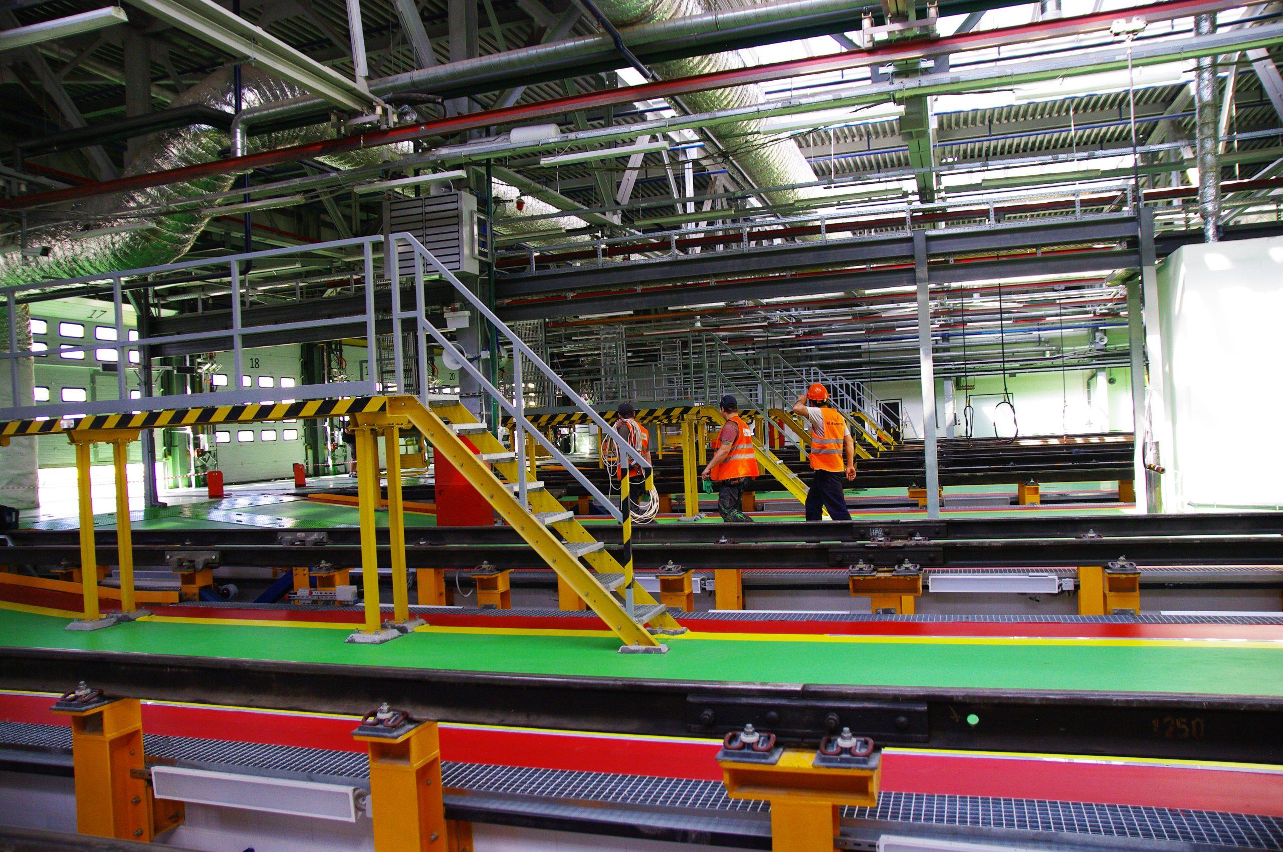 Новое строительство развернут в депо «Нижегородская» на юго-востоке Москвы