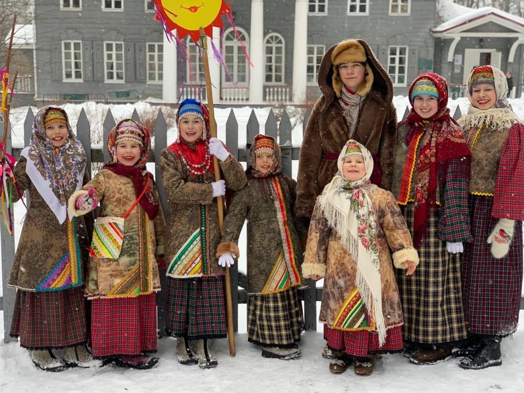 Москвичей пригласили на концерт детского фольклорного ансамбля «Жаворонки»