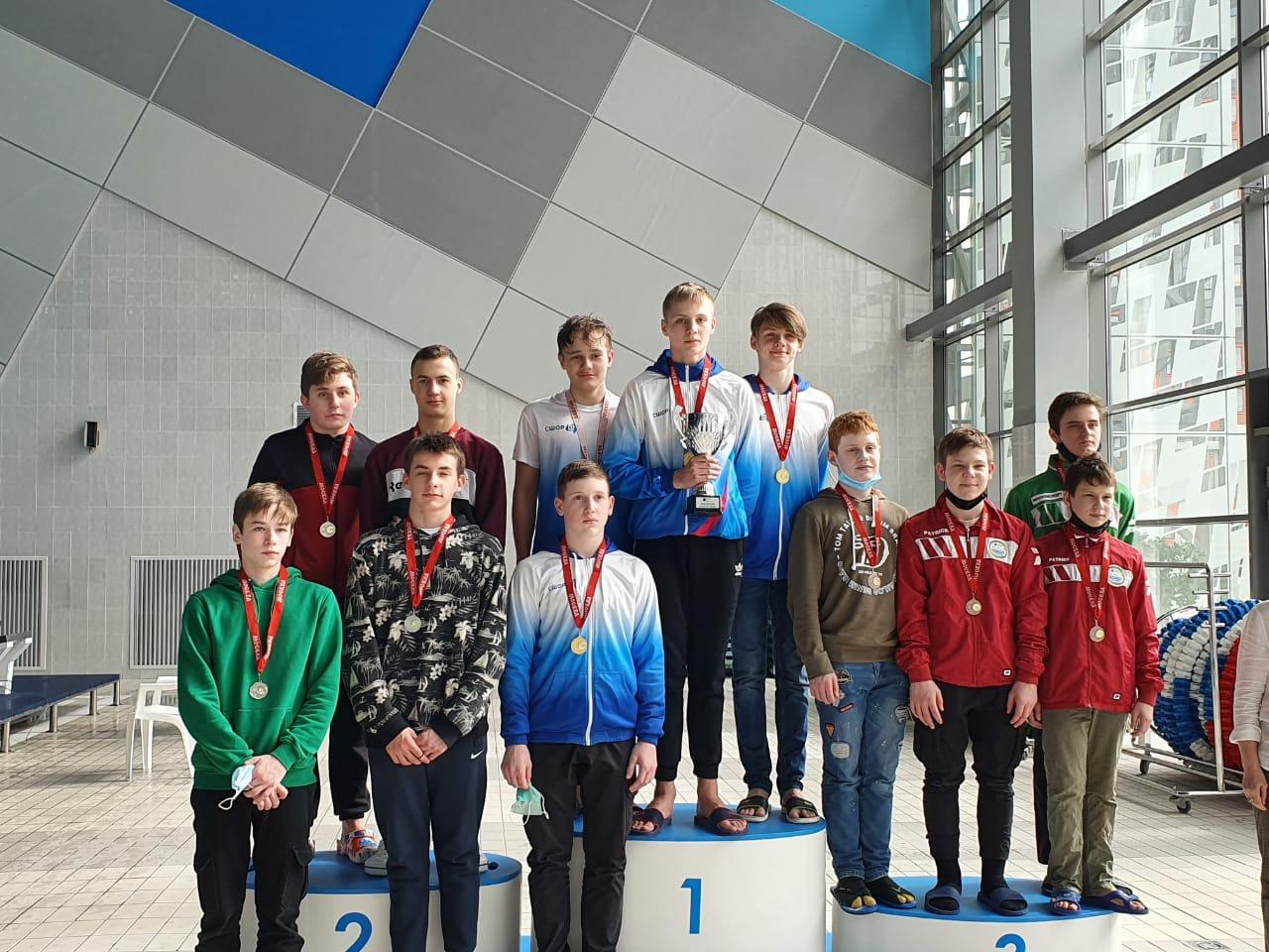 Пловцы спортивной школы №47 завоевали золотые медали