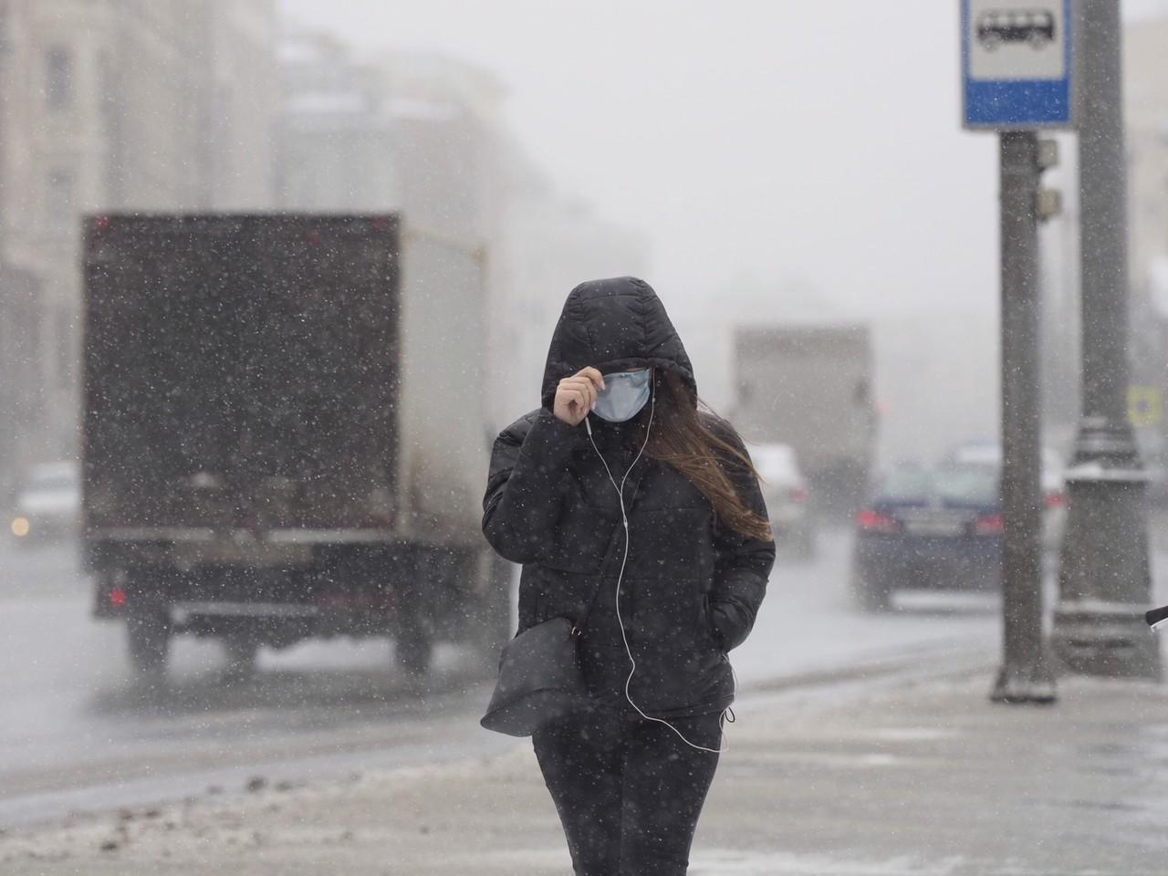 На Москву обрушится снегопад в четверг