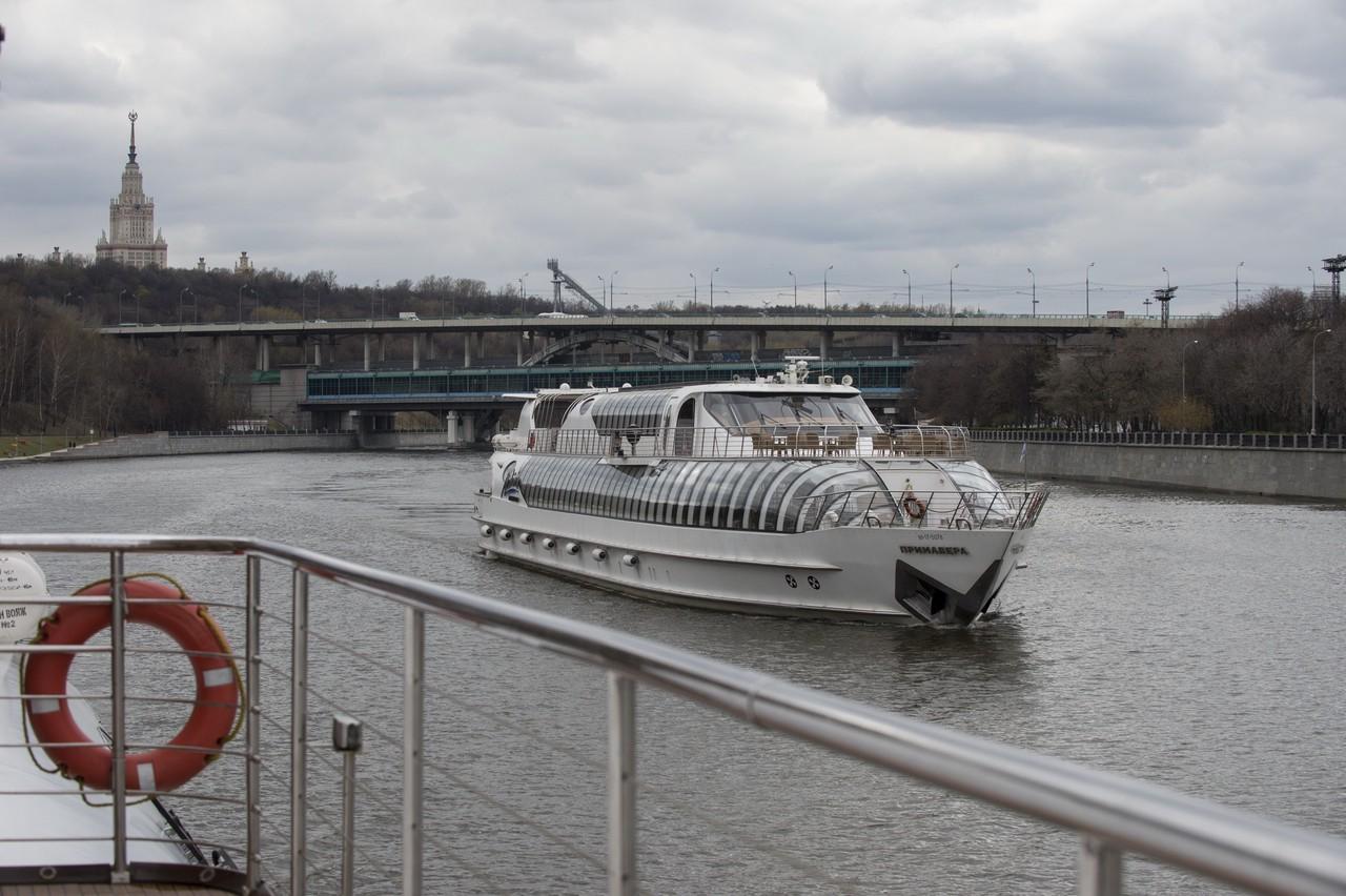 Навигация по Москве-реке откроется раньше срока