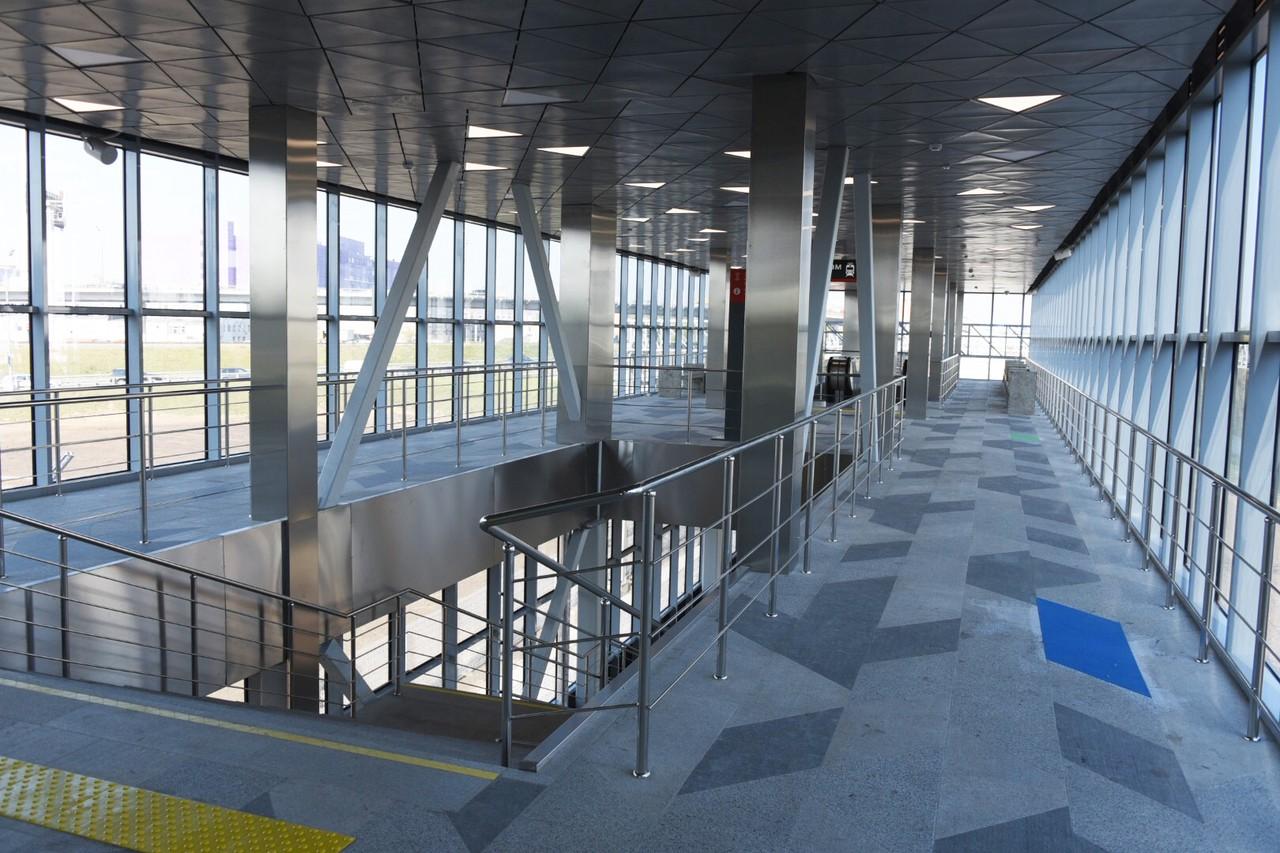 Здание для пассажиров в ТПУ «Нижегородская» достроят к лету