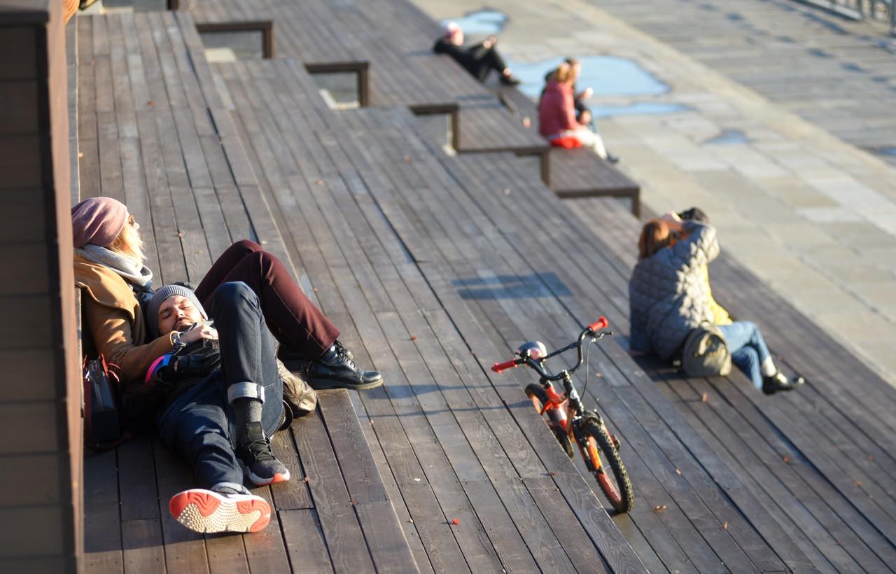 Потепление ожидается в Москве во вторник