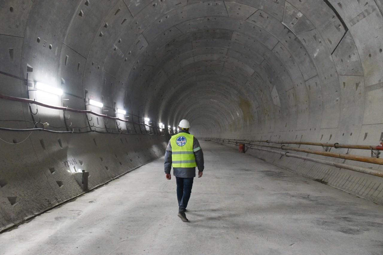 Восточный участок БКЛ метро готов на 37 процентов