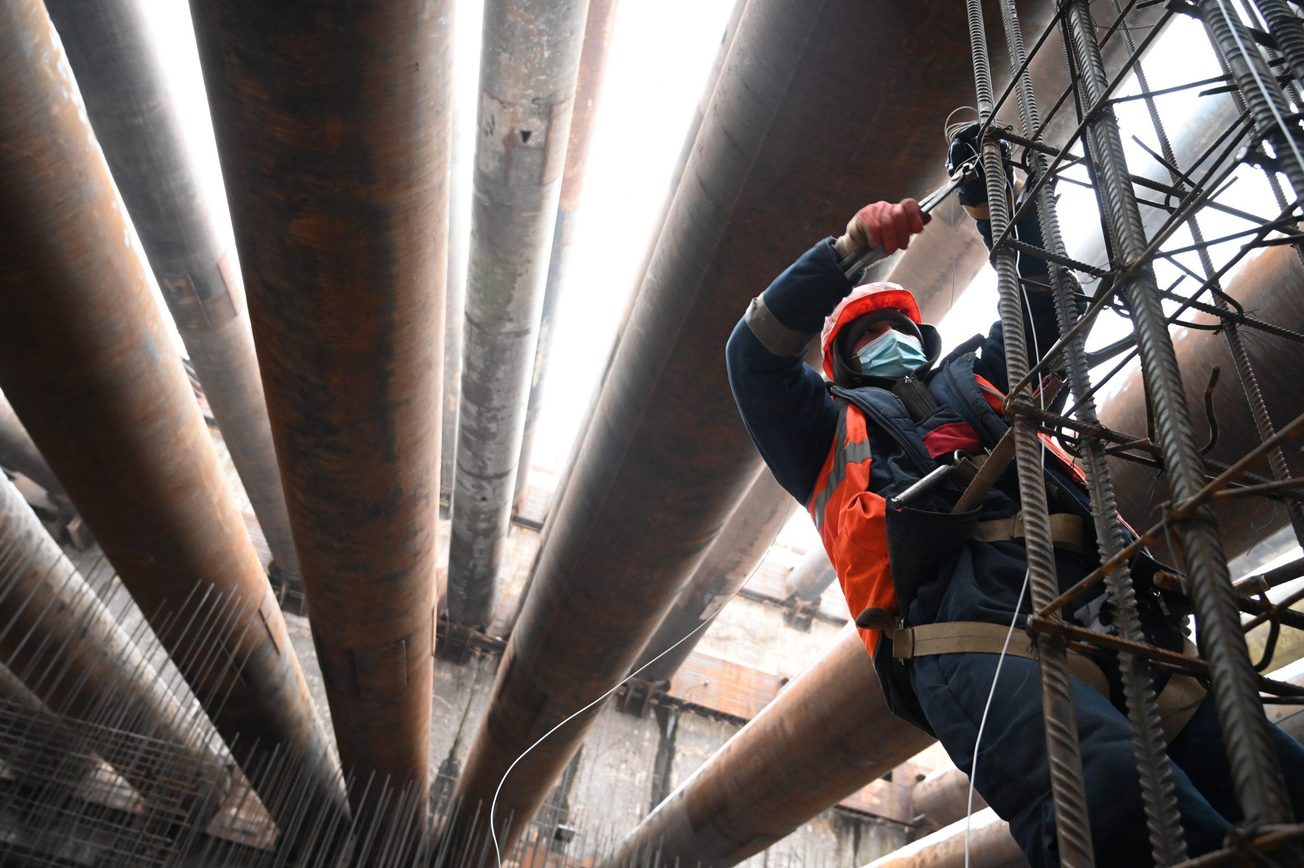 Метро ускорит строительство тоннеля БКЛ рядом с перекрытым участком салатовой линии