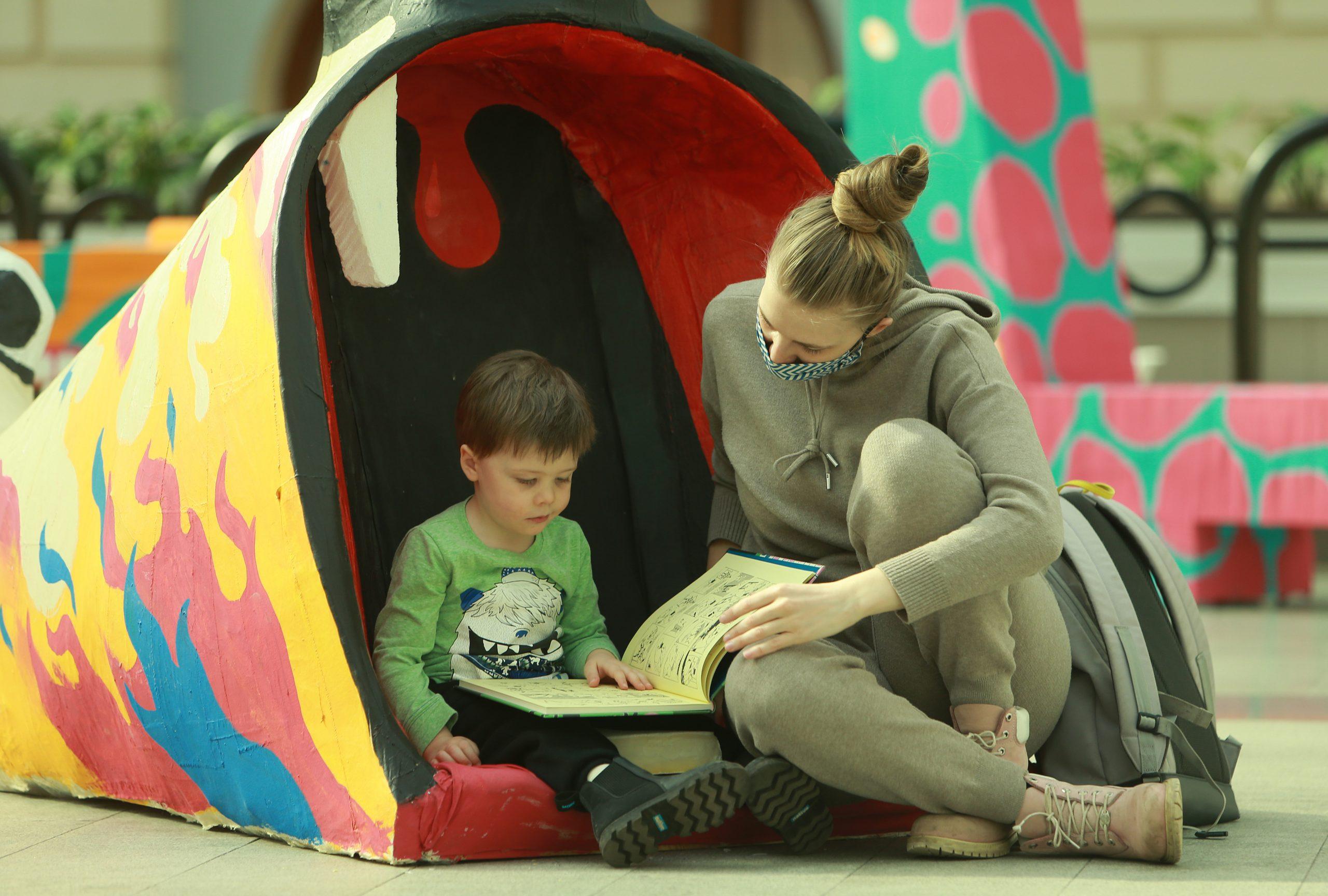Заведующая библиотекой № 138 рассказала о приучении детей к книгам