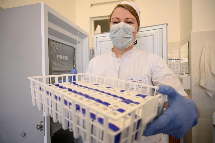 Выездная бригада вакцинации от COVID-19 заработает на Кавказском бульваре