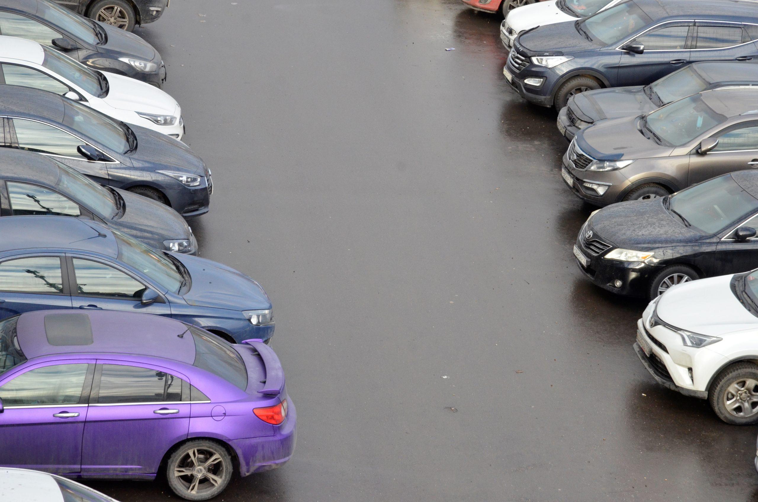 Бесплатное парковочное место на 100 машин появилось в Нагатинском Затоне
