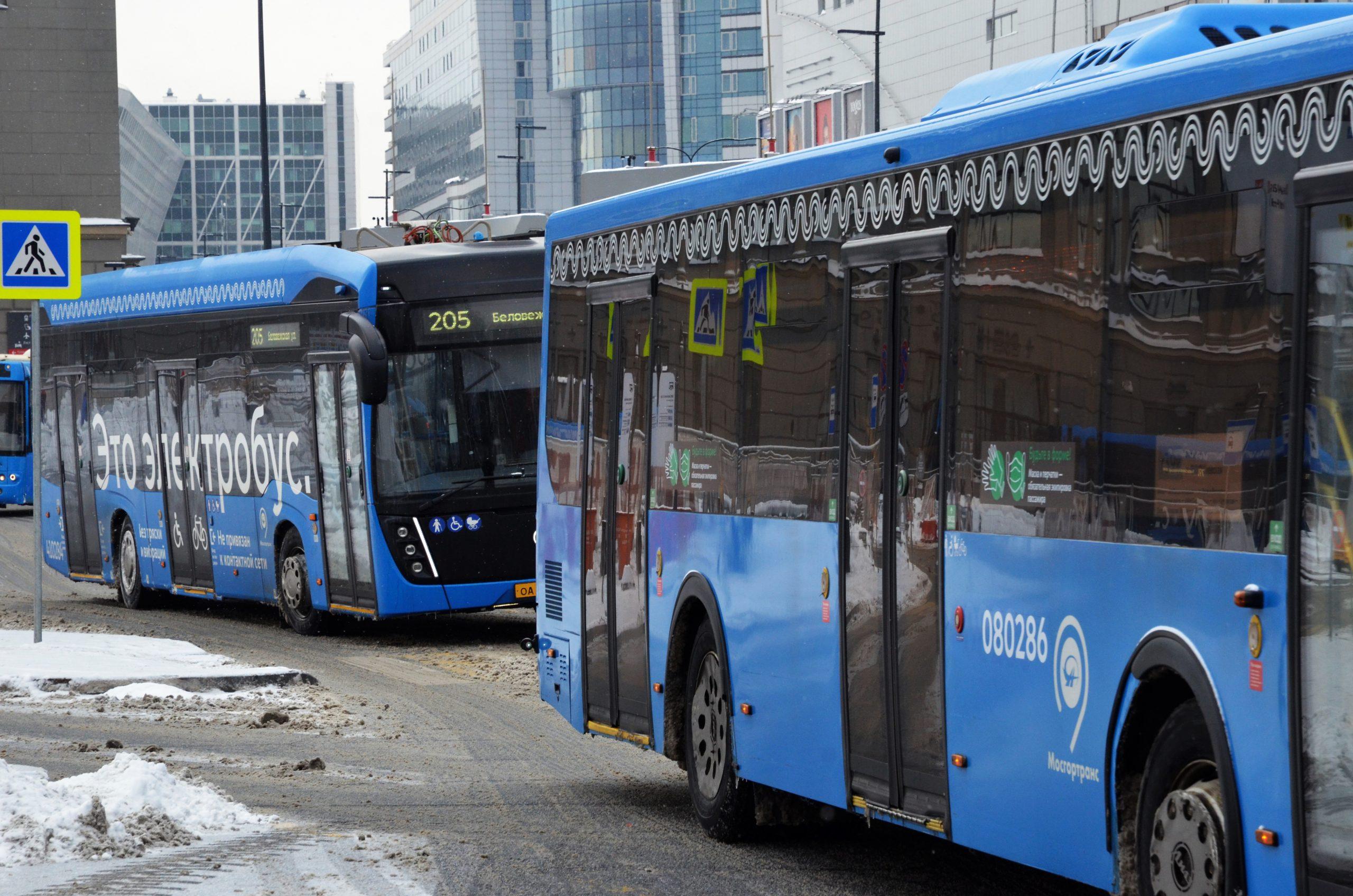 Общественный транспорт на водороде планируют протестировать в столице