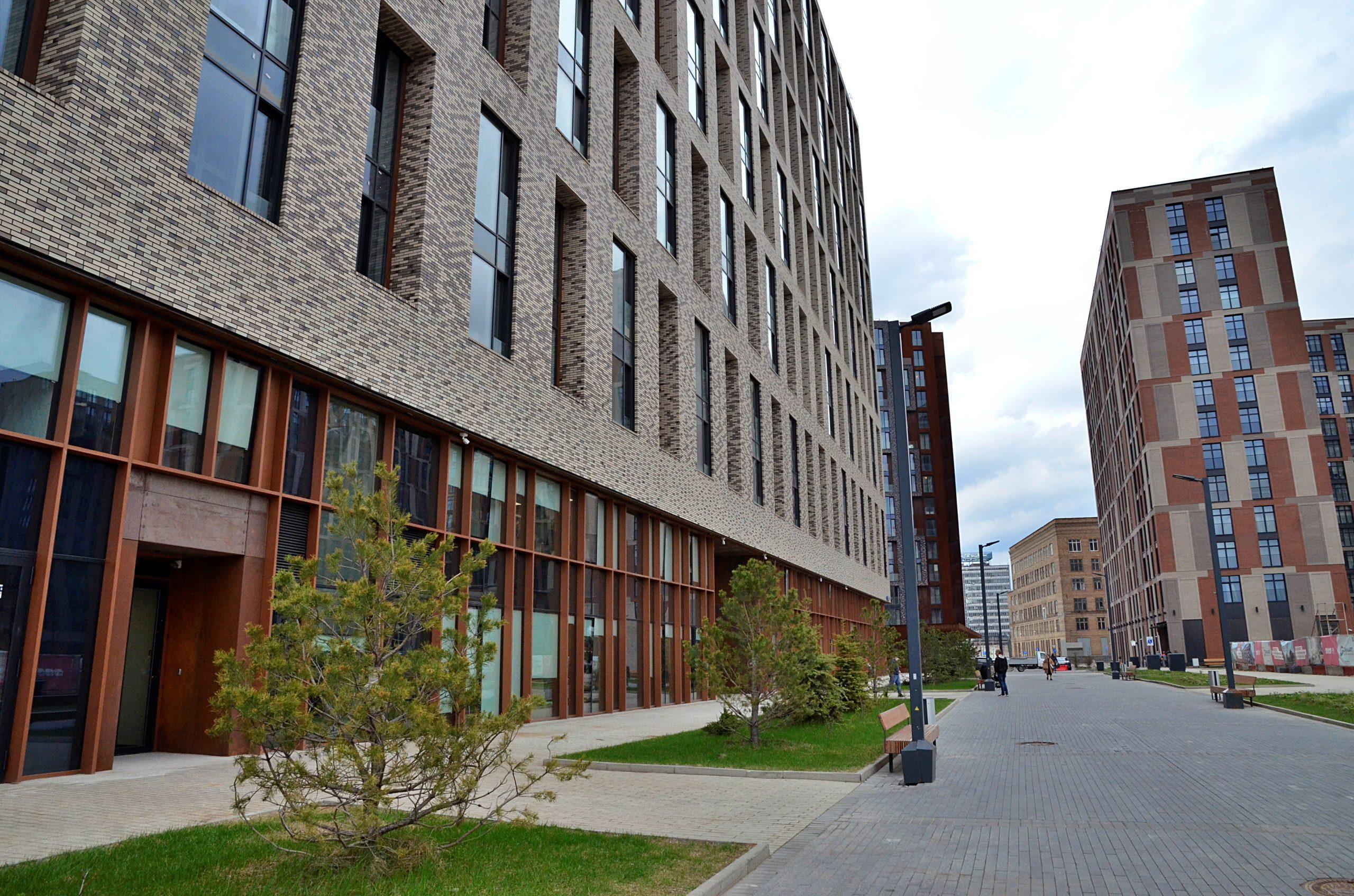 Москомэкспертиза согласовала проект многоквартирного дома с подземной автостоянкой в Даниловском районе