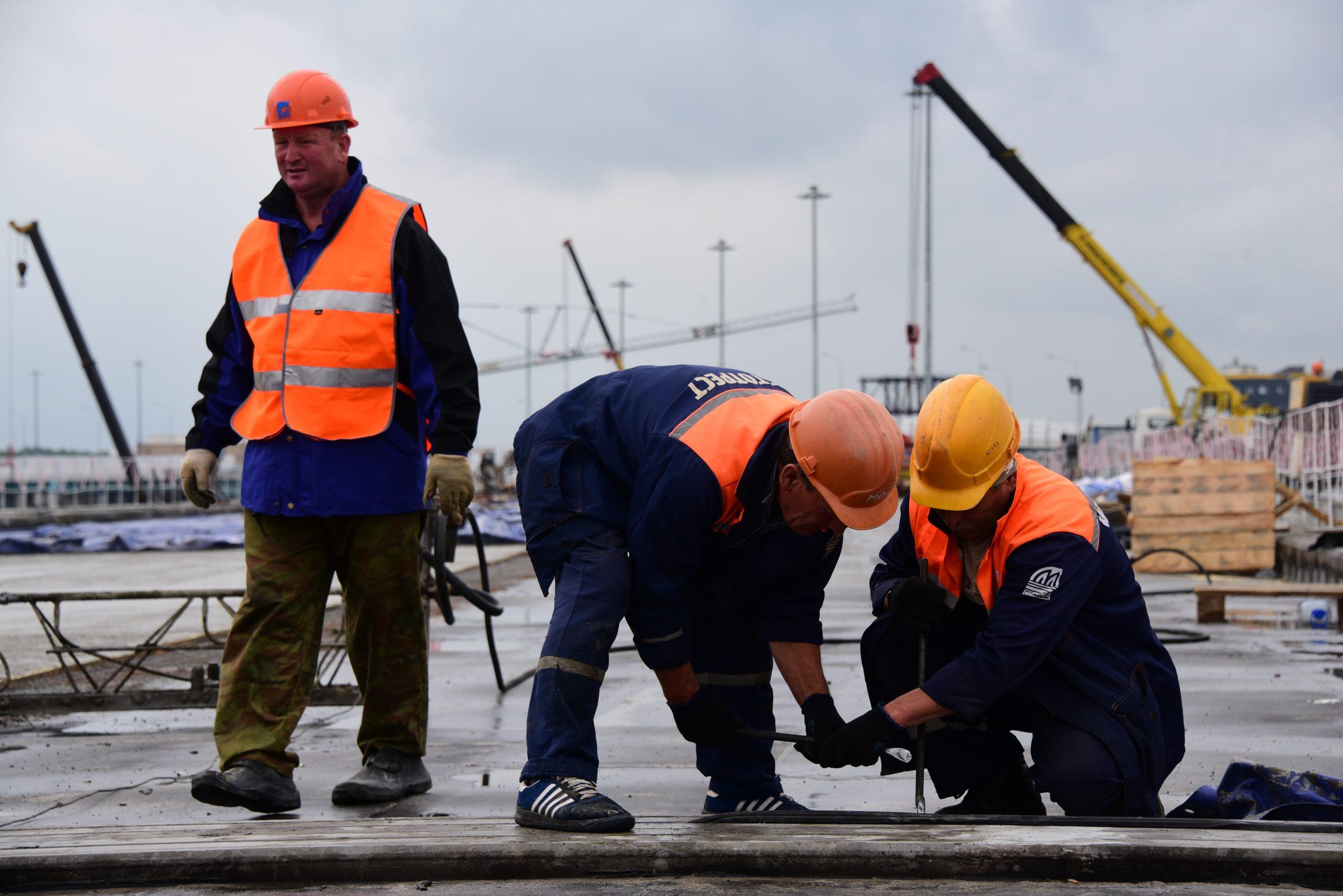 Около 700 дорожных объектов зарегистрировали в Москве за четыре месяца