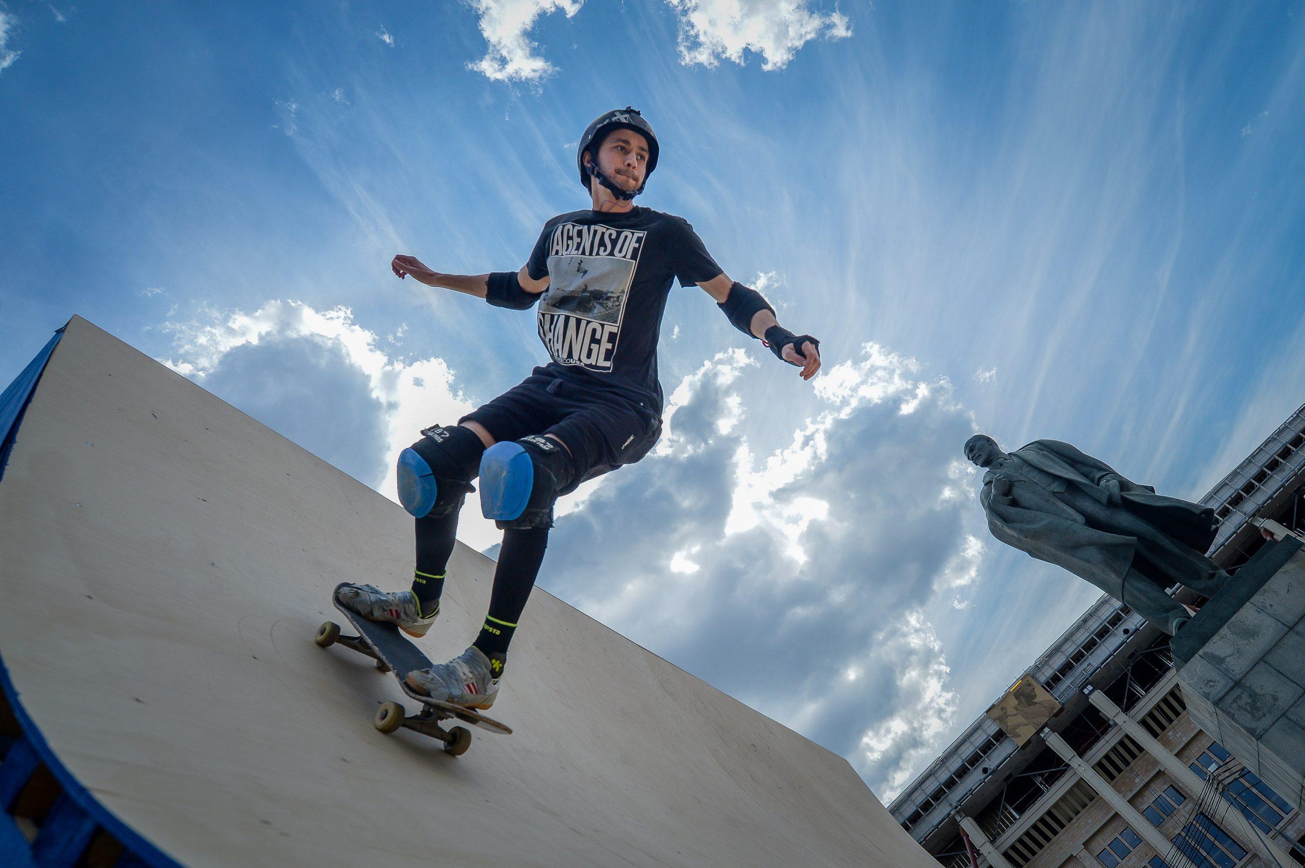Скейт-сезон начался в столичных парках