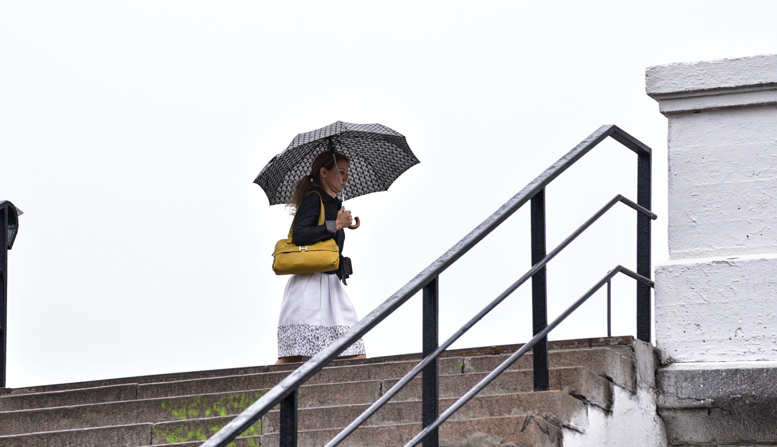 Дожди надвигаются на Москву
