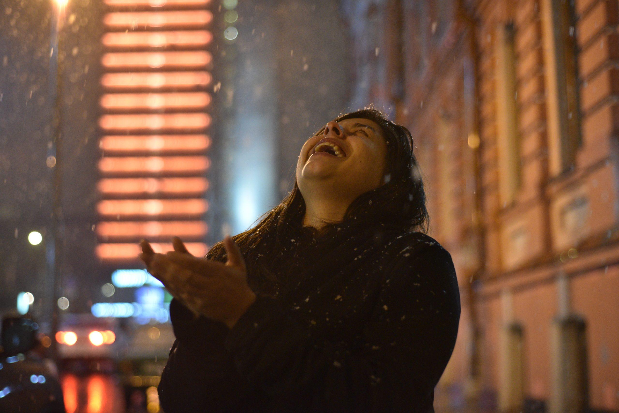 Москву ждет мокрый снег к выходным