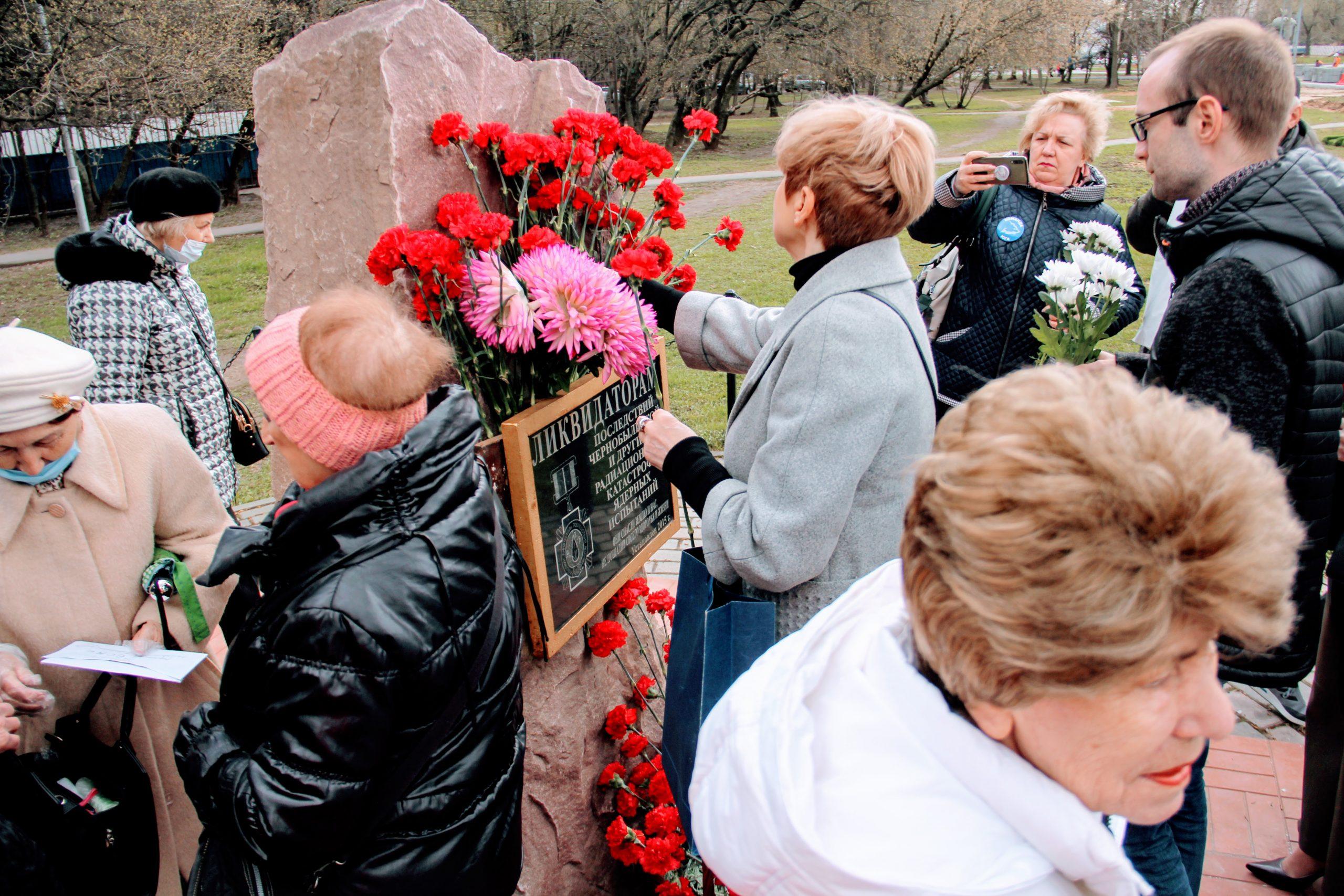 Мемориальную акцию провели в районе Царицыно