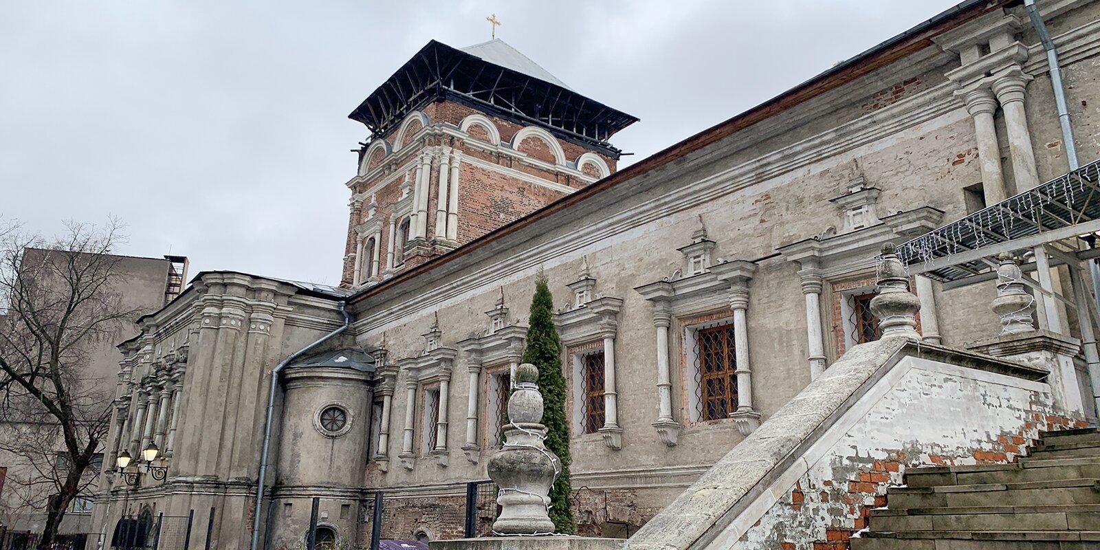 Симонов мужской монастырь отреставрируют в Москве