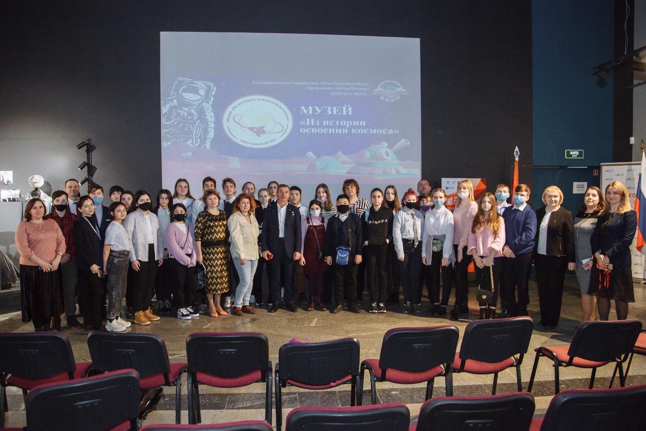 Школьники посетили урок с Героем России