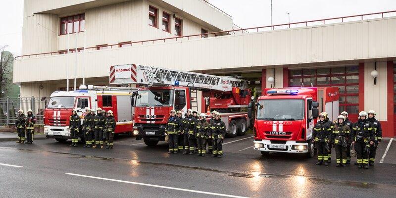 Пожарные страны отмечают профессиональный праздник