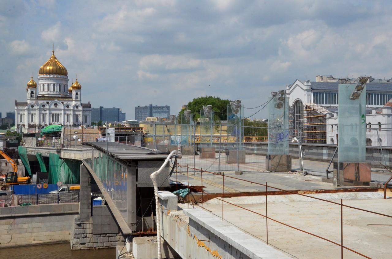 Ремонт пяти мостов стартовал в Москве