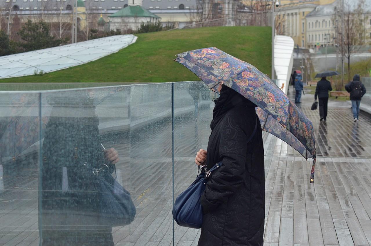 Дожди с порывами ветра ожидаются в субботу
