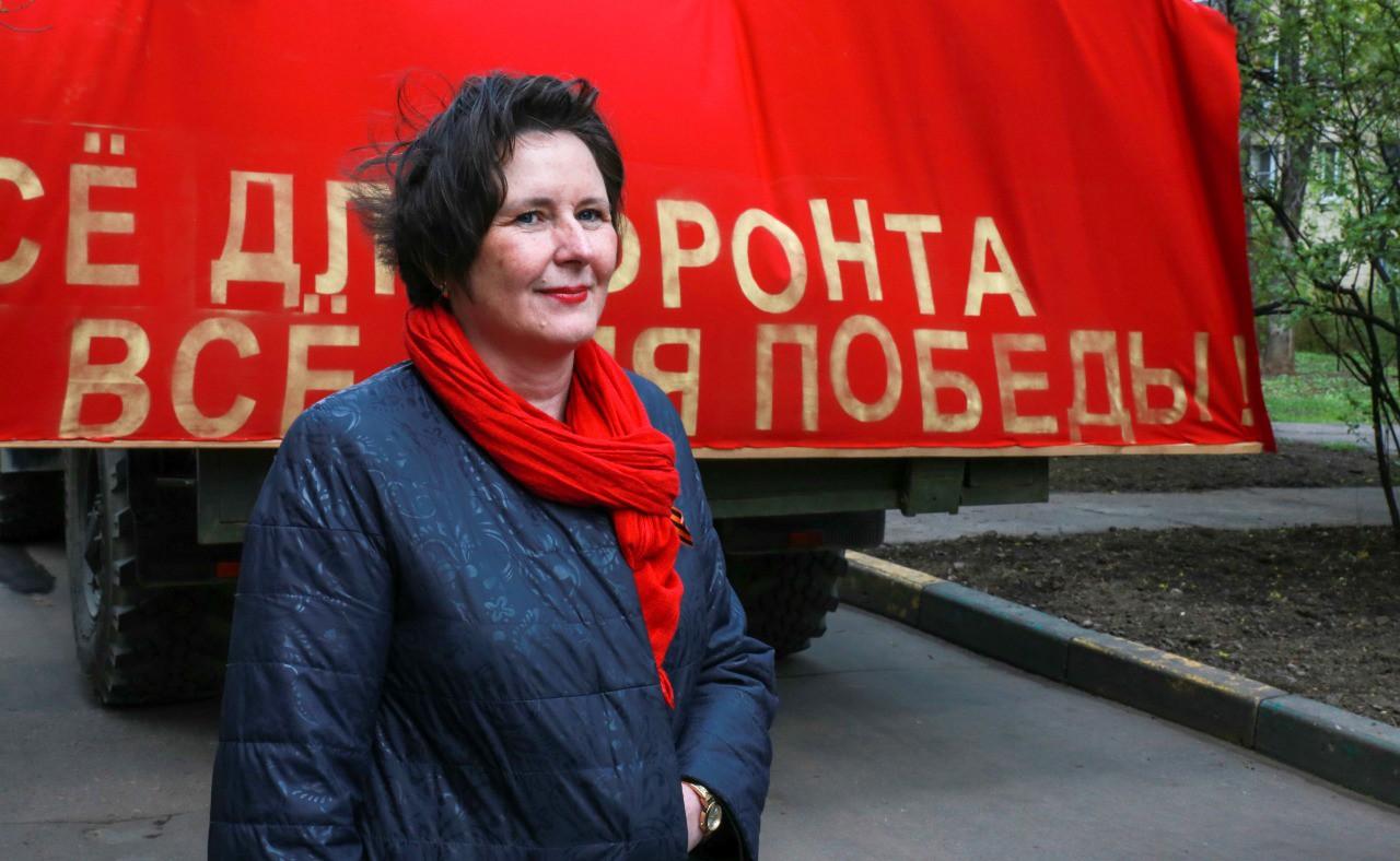 Светлана Разворотнева поздравила ветерана-долгожительницу с Днем Победы