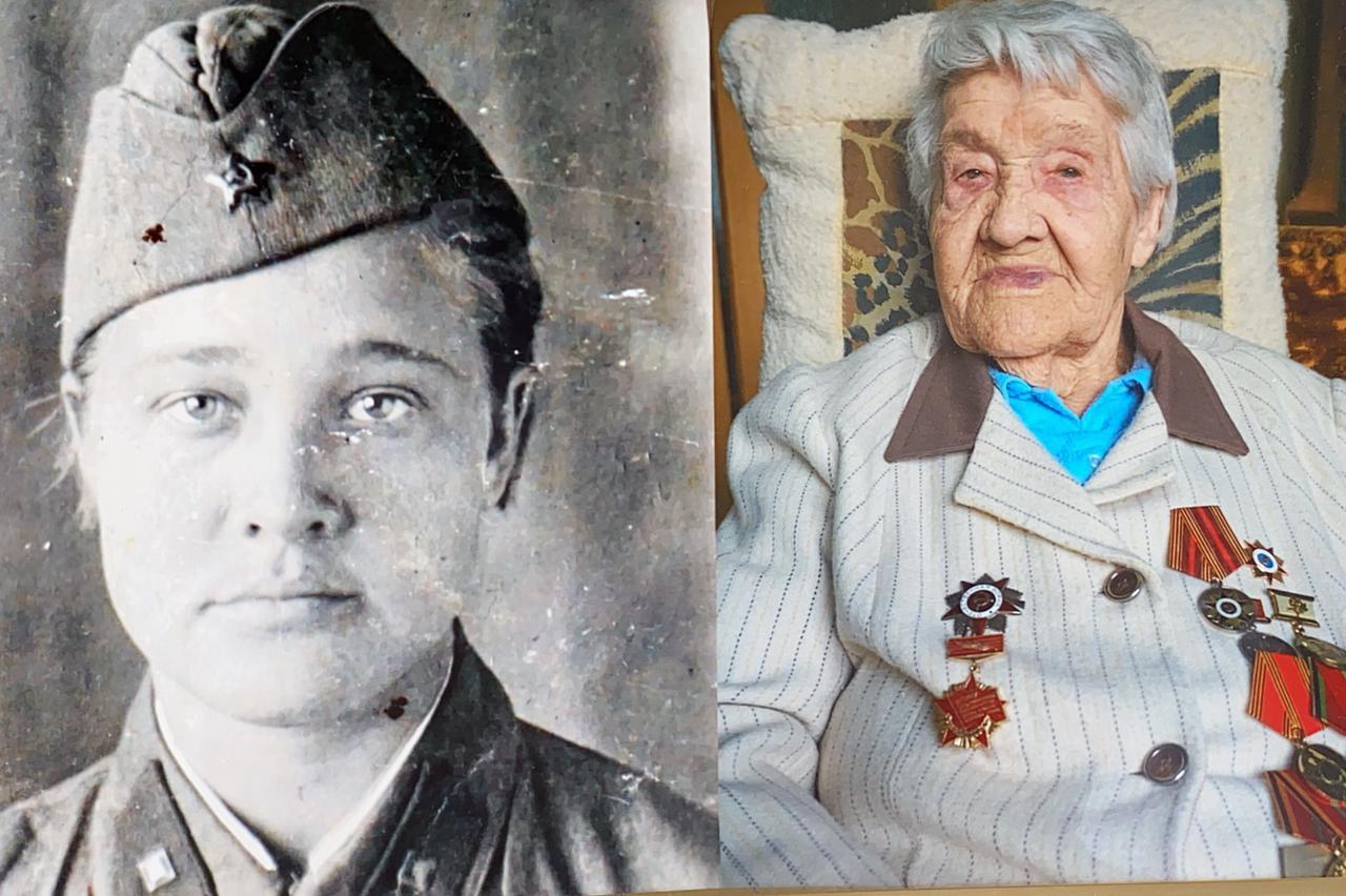 Евгений Нифантьев встретился с участницей Сталинградской битвы накануне ее столетнего юбилея