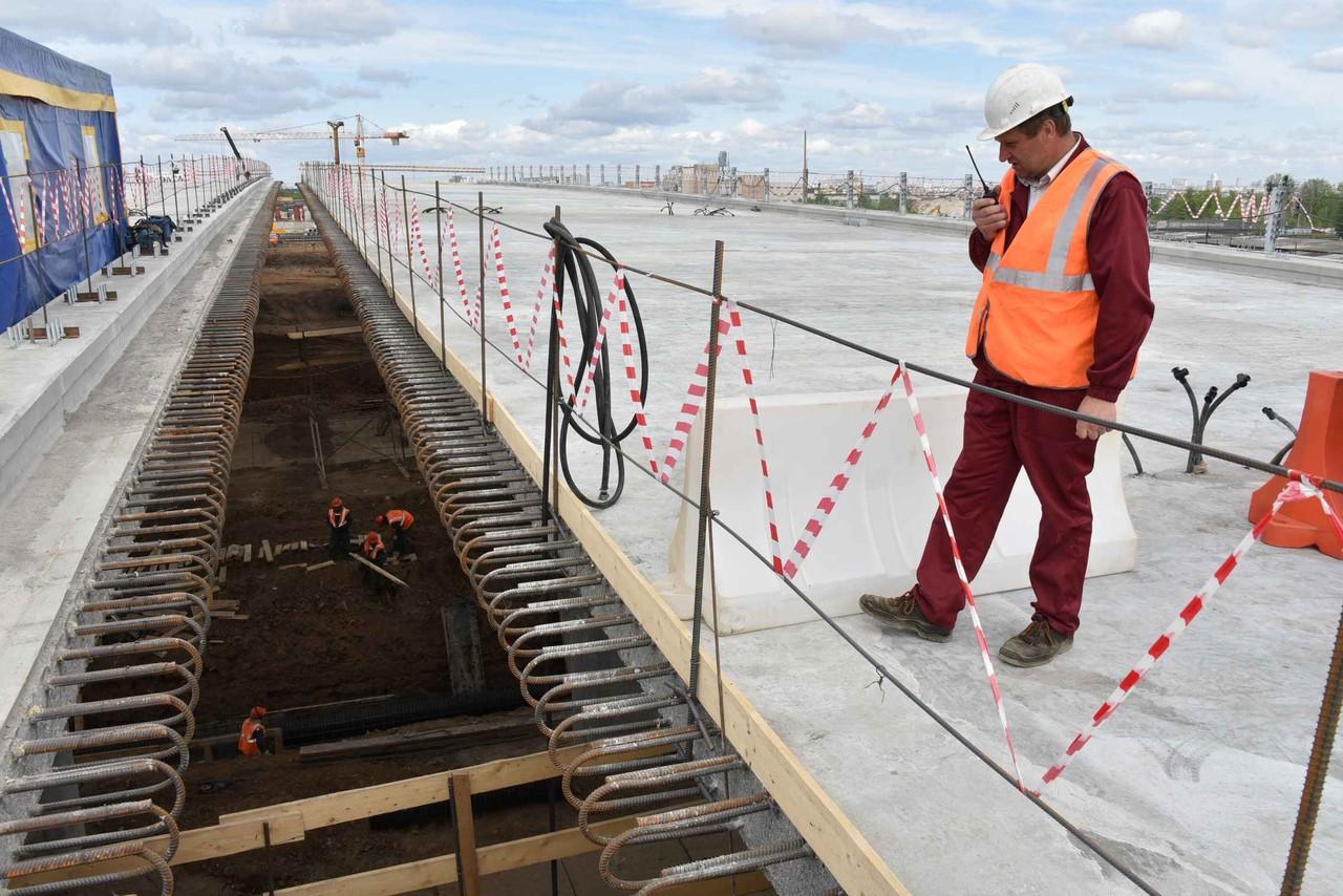 Работы по реконструкции развязки МКАД с улицей Липецкая начались в Москве